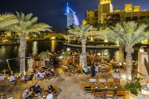 Jumeirah, view of Burj al-Arab