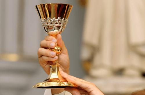 A sacred chalice