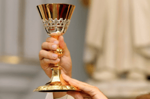 A sacred chalice