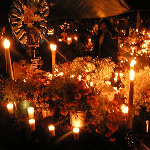 An altar to the dead