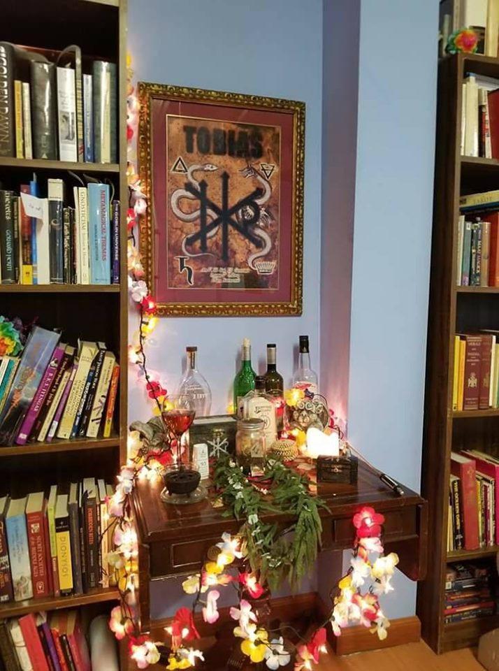 The altar of Tobias at William Blake Lodge