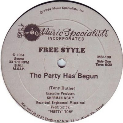 Freestyle - The Party Has Begun