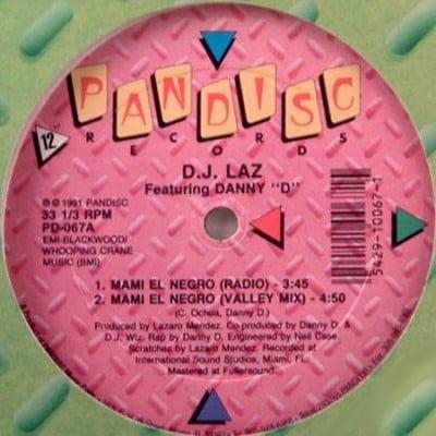 DJ Laz - Mami el Negro (Pandisc)