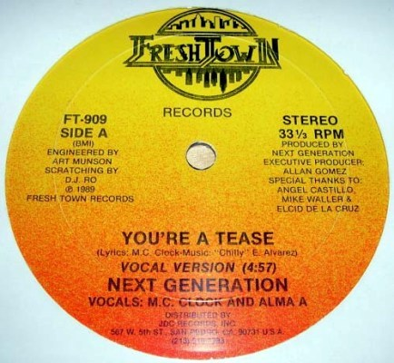 Next Generation - You're A Tease