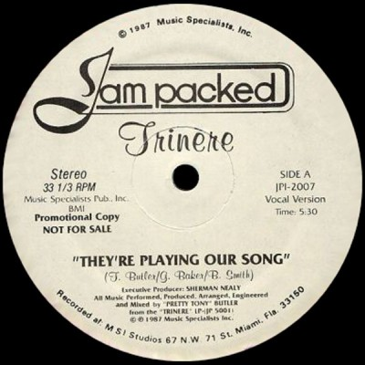 Trinere - They're Playing Our Song