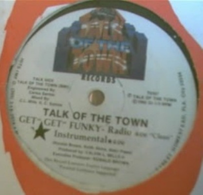 talk of the town - get get funky