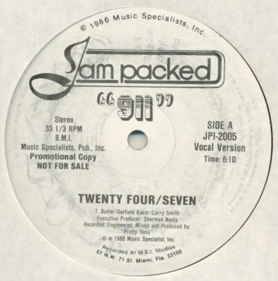 911 - Twenty Four Seven A