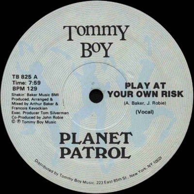 Planet Patrol - Play At Your Own Risk A