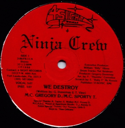 Ninja Crew - We Destroy