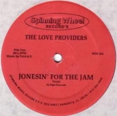 LOVE PROVIDERS - Jonesin' For The Jam