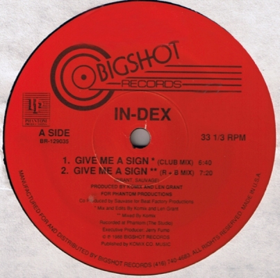 In-Dex – Give me a sing