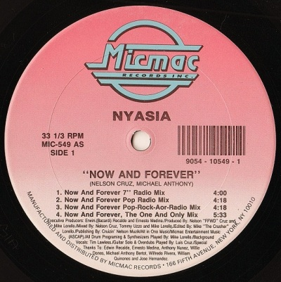 Nyasia - Now And Forever A