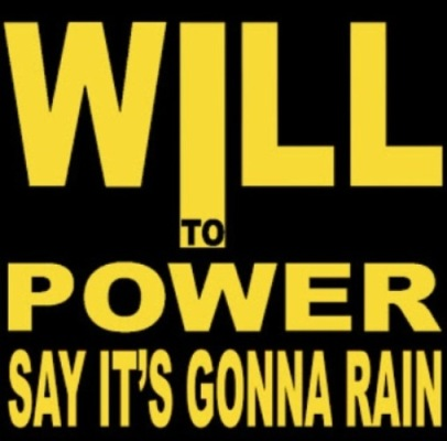 Will To Power - Say It's Gonna Rain ( Front )