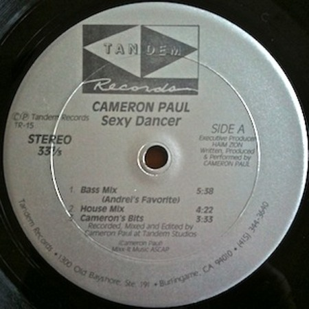 Cameron Paul - Sexy Dancer (1989)