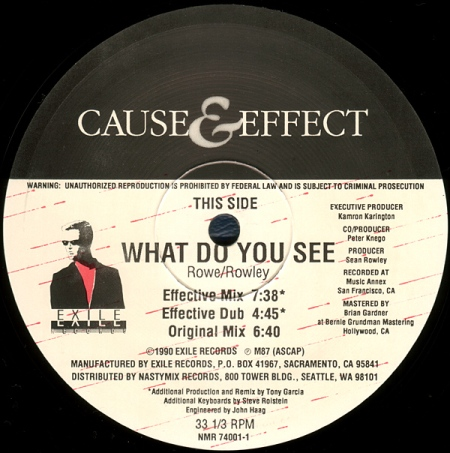 Cause Effect - What Do You See