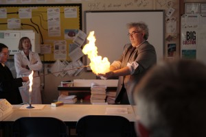 BSW igniting methane bubbles 3
