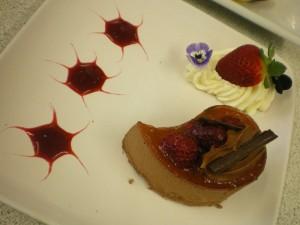 Chef demo dessert