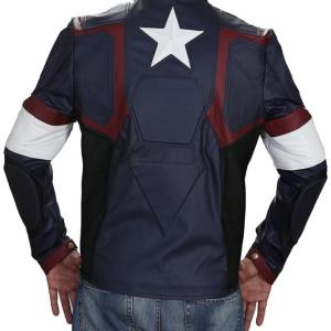 Captain America Age of Ultron Leather Jacket