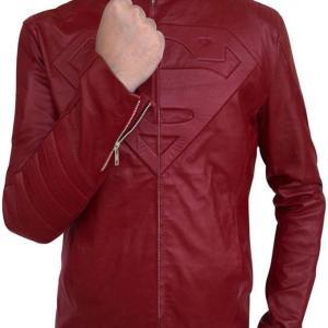 Superman Smallville Tom Welling Leather Jacket