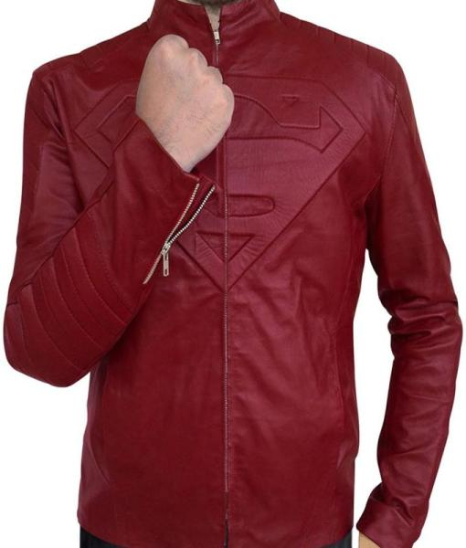 Superman Smallville Tom Welling Leather Jacket