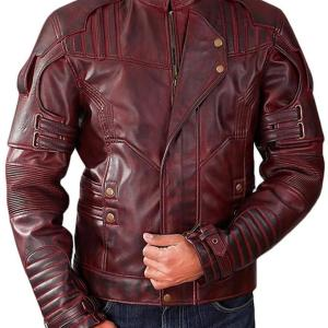 Star Lord Chris Pratt Vol 2 Leather Jacket