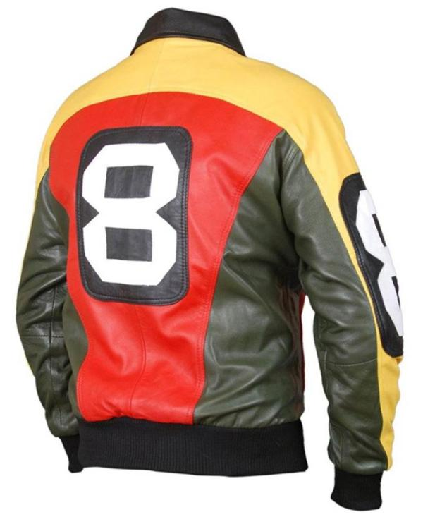 David Puddy Leather Jacket