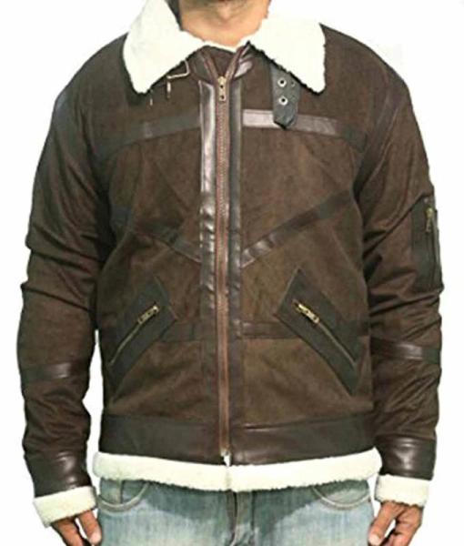 50 Cent Shearling Jacket