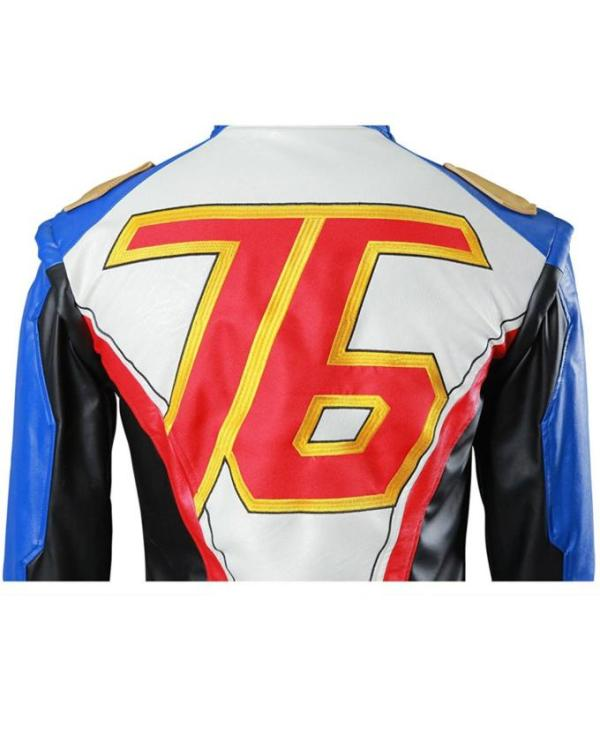 Soldier 76 Motorcycle Leather Jacket