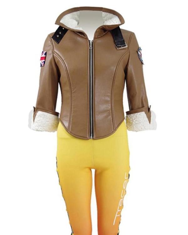 Tracer Shearling Jacket