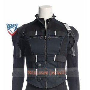 Black Widow Infinity War Vest 2018 Main William Jacket (1)