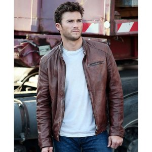 Scott Eastwood Fast And Furious 8 Leather Brown Jacket