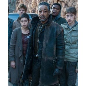 Jorge Maze Runner The Death Cure Trench Coat