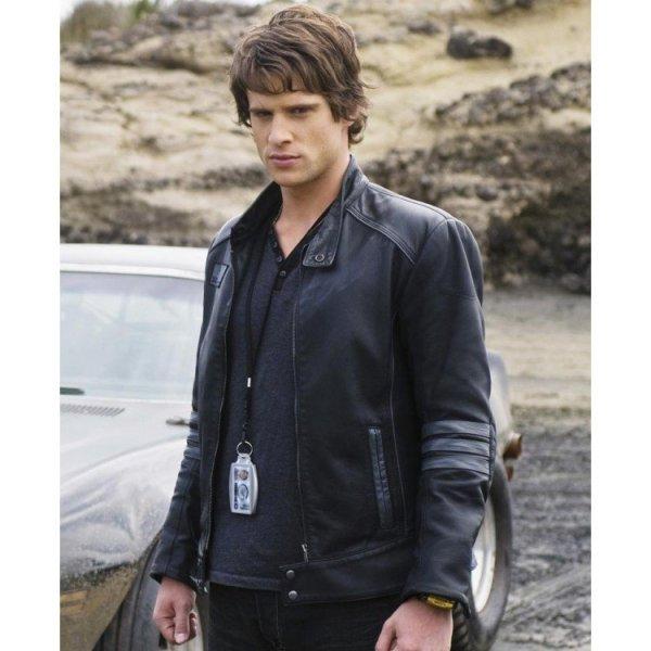 Dillon Power Rangers RPM Leather Jacket