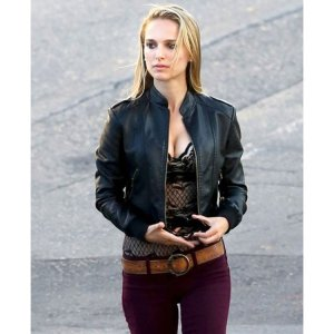 Song To Song Rhonda Cropped Leather Jacket