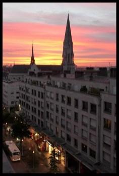 Levé du soleil à Nantes, Rue du Calvaire 01 par William Jezequel