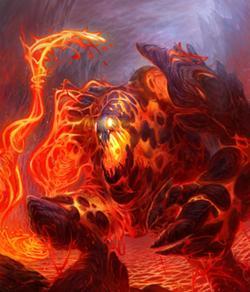 Cherufe Lava Monster