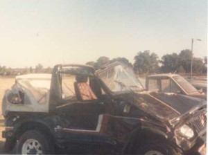 Suzuki Wrecked 1