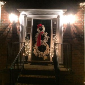 Happy Holidays Christmas-2015-Front-Door
