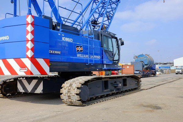 100t Crawler Crane Williams Shipping