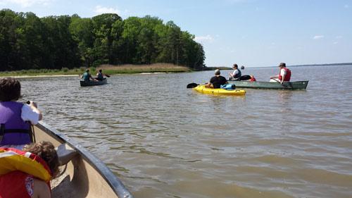 york-river-canoe