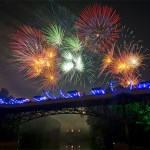 Nightly Fireworks at Busch Gardens Williamsburg