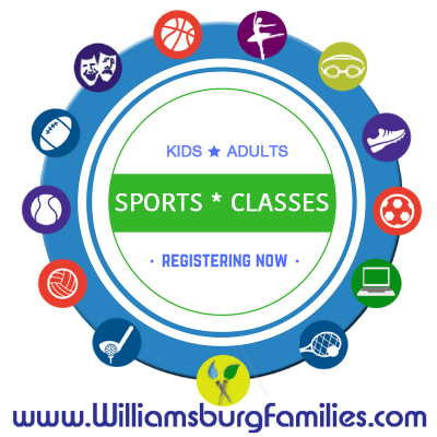 Sports & Arts - Teams and Class Registration Now in Williamsburg