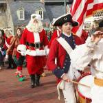 Yorktown Celebrates Christmas - Nov. 30-Dec. 2 Weekend features Four Big Events - Tree Lighting, Christmas Market, Cookies with Santa, and Lighted Boat Parade