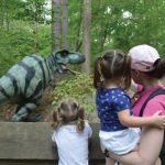 Virginia Living Museum Permanent Dinosaur Trail is OPEN -  Bring the kids and explore Dinos in nature!