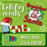 Breakfast with Santa - Dec. 14 at JCC Parks & Recreation