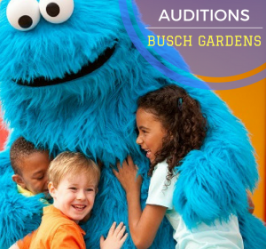 Busch Gardens Character auditions