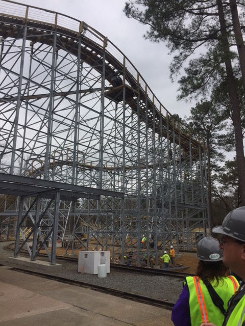 See What We Learned About The New Wooden Coaster Invadr Opening This