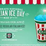 How to get a FREE Rita's Italian Ice - Today! May 3, 2019