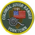 "Junior Ranger Day at Yorktown Battlefield - a ""National"" Junior Ranger Patch - April 18"