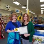 Tama Ferrara Teacher of month